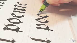 Letras Góticas - Fraktur