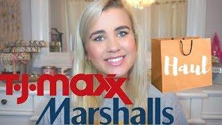 TJ MAXX & MARSHALLS HAUL (CLEARANCE & GREAT DEALS) | Paige Koren