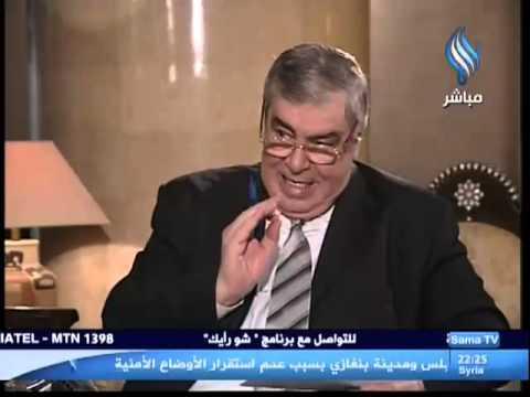 قناة سما الفضائية - حوار الدكتور فرح سليمان المطلق معاون وزير التربية 12-03-2013