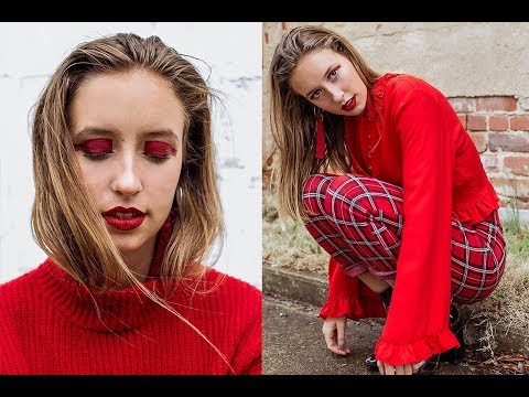 BEHIND THE PHOTOSHOOT | RED MONOCHROME...