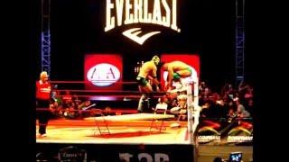 Guerra de Titanes-Super Fly, La Parka Negra y Daga VS Australian Suicide, Jack Evans y Fireball