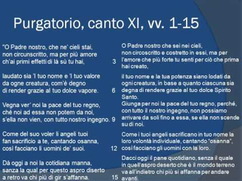Purgatorio canto XI, vv. 1-78