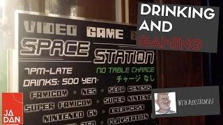 INCREDIBLE Classic Video Game Bar in JAPAN | Space Bar, OSAKA [Ft. ALEKSI HIMSELF]