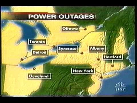 News on the Blackout of 2003 - from NBC - part 2 of 5!!