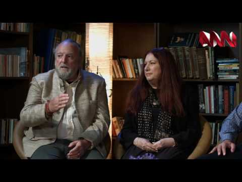 The English Hour S4 (William Morris) with Sheikh Ghassan Manasra, Dr Anna Less, David Less - ANN TV
