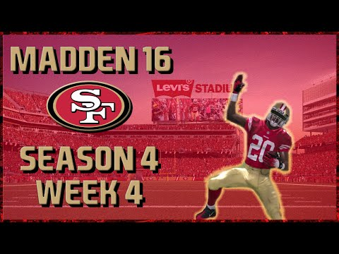 Madden 16 Franchise: San Francisco 49ers | Year 4, Week 4 vs Packers