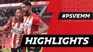 MAXI ROMERO scores in 94th minute 🤯   HIGHLIGHTS PSV - FC Emmen