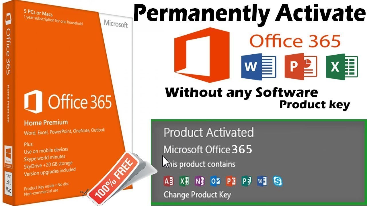 How To Activate Office 365 Youtube
