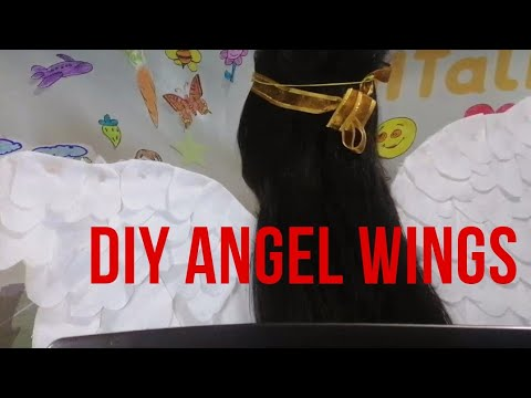 DIY Angel Wings using Tissue | QUEEN
