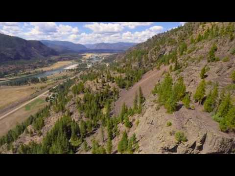 Paradise Valley, MT (by drone)