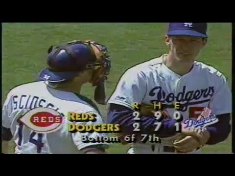 1988 MLB: Reds at Dodgers 6/4/1988