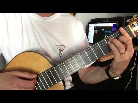 Les Copains D'abord de Georges Brassens:  Leçon de guitare