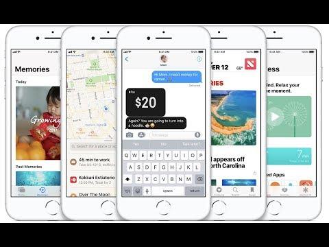 아이폰 X, 아이폰 8에 탑재된 iOS 11의 13가지 신