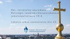 1. sunnuntai pääsiäisestä - jumalanpalvelus Helsingin tuomiokirkosta