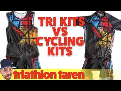 Triathlon Kits vs Cycling Kits - YouTube