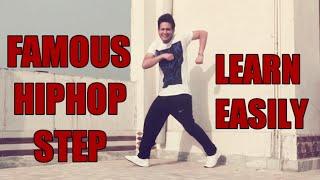 LEARN FAMOUS HIPHOP डी जे DANCE STEPS || DJ डांस STEPS सीखने का आसान तरीका || EASY WAY TO LEARN