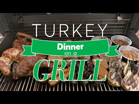 Thanksgiving Turkey Dinner on a Grill  | Consumer Reports