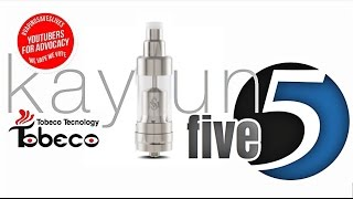 Kayfun 5 (Clone) RTA By Tobeco | Mini Muffin Man 6mg