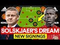 SOLSKJAER'S MAN UTD DREAM TEAM WITH NEW SIGNINGS & TRANSFERS