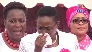 Murang'a Women Rep. Sabina Chege explains what made her shed tears