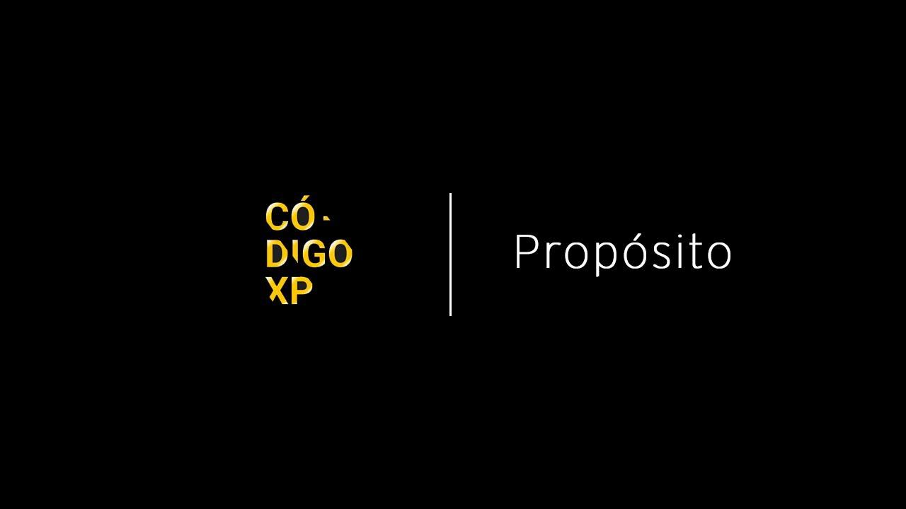 CÓDIGO XP | Transformar o mercado financeiro para melhorar a vida das pessoas