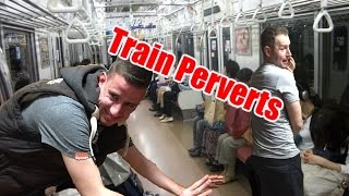 Living in Japan : Train Perverts