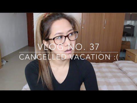 Vlog No.  37 - Cancelled Vacation :(   Kuwait International Aiport