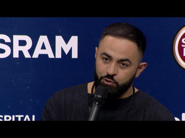 Sevak Khanagyan | Arménia | Press Conference | Eurovisão 2018