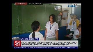 Kulitan ng mga estudyanteng nag-ala bida ng