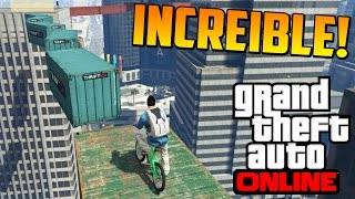 increble 100 imposible ultra dificil gameplay gta 5 online funny moments carrera gta 5 ps4