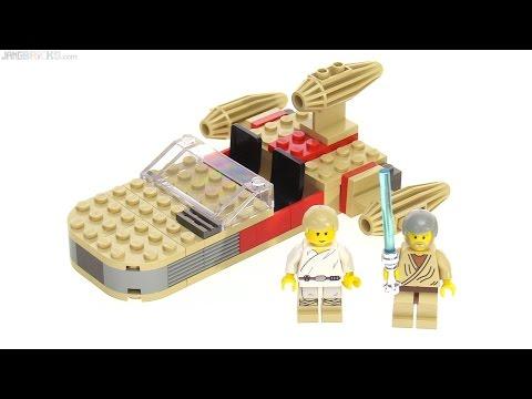 LEGO Star Wars original Landspeeder from 1999 reviewed! set 7110