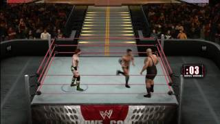 Smackdown Vs Raw 2010: 30 Men Royal Rumble 1/4