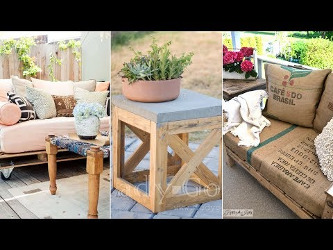 10 DIY Patio Furniture Projects That are Cheap