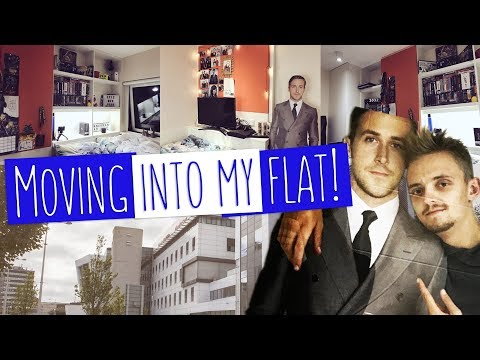 MY NEW UNIVERSITY ROOM! | Moving into student accommodation
