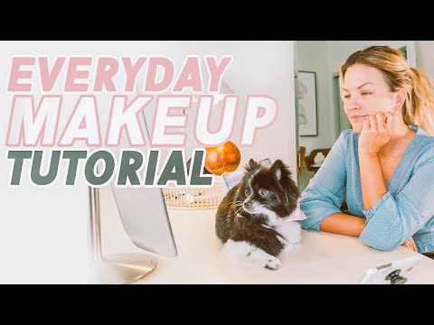 Makeup For Beginners: My Everyday, Easy + Natural Makeup Tutorial thumbnail