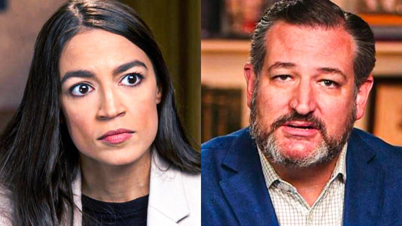 AOC Wrecks Ted Cruz During Amazing Twitter Fight