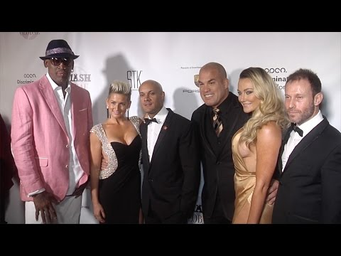"Steve Orosco, Dennis Rodman, Tito Ortiz ""SMASH Global IV"" Red Carpet"