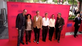 Jeremy Irons, Virginie Elfira, Virginie Ledoyen and more at une Famille a louer film premiere at Cha