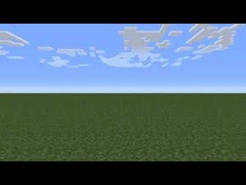 Me Paso Minecraft En Un Mundo Plano Parte 1 Youtube