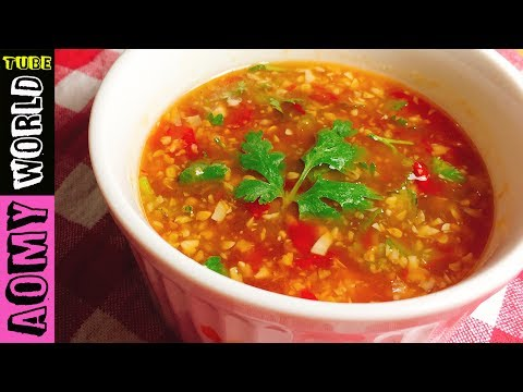 Homemade Thai Spicy Sauce For Meatballs | YUMMY ❤