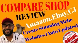 CompareShop Review & Bonus💥Create Niche Store Website using CompareShop with Amazon,Ebay Products💥