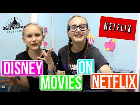 10 Disney Movies On Netflix You Need To Watch!! 2017  Elle'n'Elou