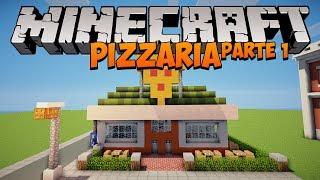 Minecraft: Como construir uma Pizzaria (parte 1)