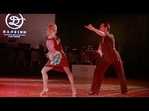 Michael Malitowski - Joanna Leunis   Warsaw Int. Dance Champ. 2017 - ShowDance Samba