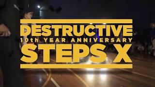 Jinjo vs Gamblerz - Finał 3vs3 na Destructive Steps X Street Dance Festival