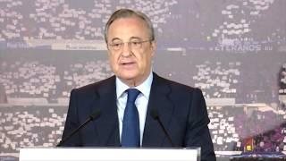 Discurso Florentino Pérez reelegido presidente del Real Madrid | 19/06/2017