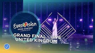 SuRie - Storm - United Kingdom - LIVE - Grand Final - Eurovision 2018 (Jury Show Performance)