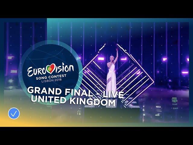 SuRie - Storm - United Kingdom - LIVE - Grand Final - Eurovision 2018 (Jury Show Performance)