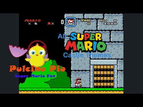 All Super Mario Castle Themes 19852013