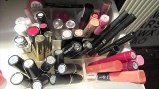 ▲ Makeup Collection & Organization in Greek! ▲